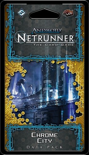 Android: Netrunner SanSan Cycle - Chrome City Data Pack