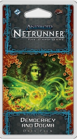 Android: Netrunner Mumbad Cycle - Democracy and Dogma Data Pack Box [6 packs]