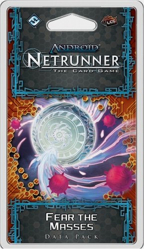 Android: Netrunner Mumbad Cycle - Fear the Masses Data Pack Box [6 packs]
