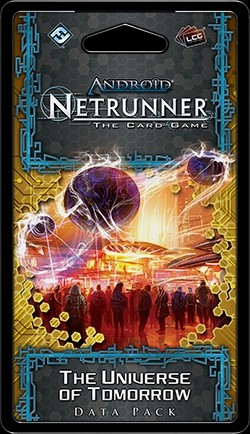 Android: Netrunner SanSan Cycle - The Universe of Tomorrow Data Pack Box [6 packs]