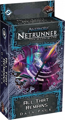Android: Netrunner Lunar Cycle - All That Remains Data Pack Box [6 packs]
