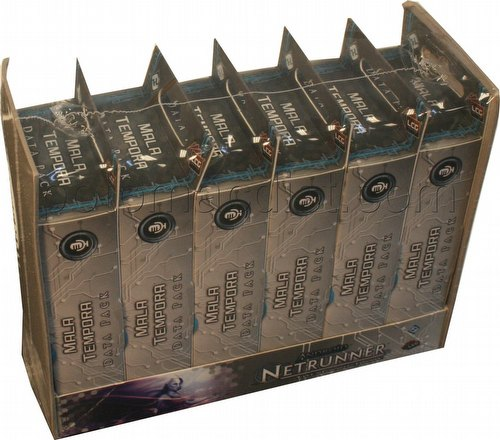 Android: Netrunner Spin Cycle - Mala Tempora Data Pack Box [6 packs]