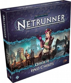 Android: Netrunner Living Card Game Order and Chaos Box