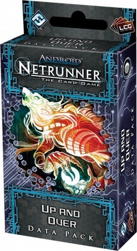Android: Netrunner Lunar Cycle - Up And Over Data Pack Box [6 packs]