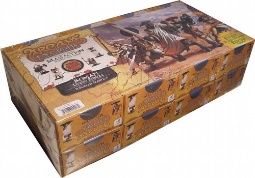 Arcane Legions Mass Action Miniatures Game: Roman Booster Bundle [8 packs]