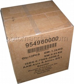 Axis & Allies Miniatures [TMG]: Booster Case [12 packs]