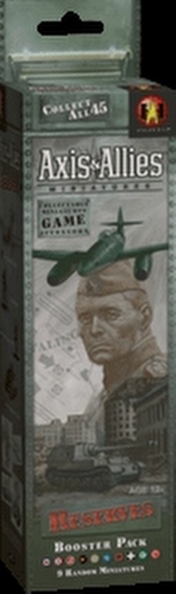 Axis & Allies Miniatures [TMG]: Reserves Booster Case [12 packs]