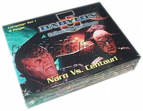 Babylon 5 Collectible Card Game [CCG]: Narn/Centauri 2 Player Campaign Set