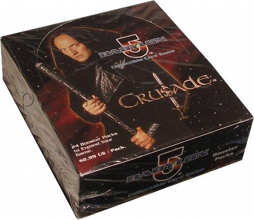 Babylon 5 Collectible Card Game [CCG]: Crusade Booster Box