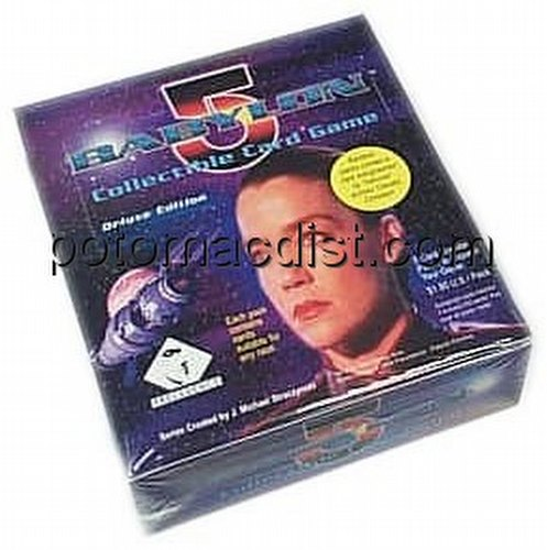Babylon 5 Collectible Card Game [CCG]: Deluxe Edition Booster Box