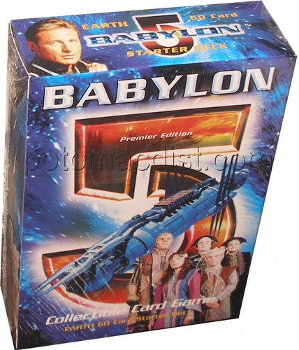 Babylon 5 Collectible Card Game [CCG]: Premier Starter Deck [Earth]