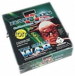 Babylon 5 Collectible Card Game [CCG]: Great War Booster Box