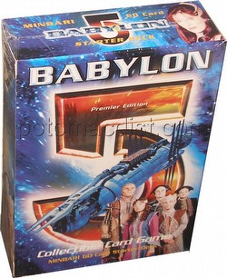 Babylon 5 Collectible Card Game [CCG]: Premier Starter Deck [Minbari]