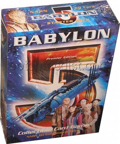 Babylon 5 Collectible Card Game [CCG]: Premier Starter Deck [Narn]