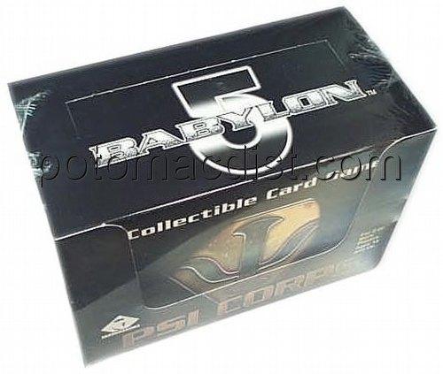 Babylon 5 Collectible Card Game [CCG]: Psi Corps Starter Deck Box