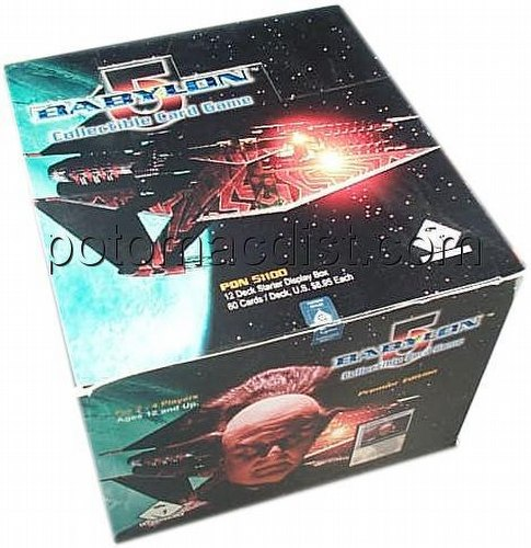 Babylon 5 Collectible Card Game [CCG]: Premier Starter Deck Box