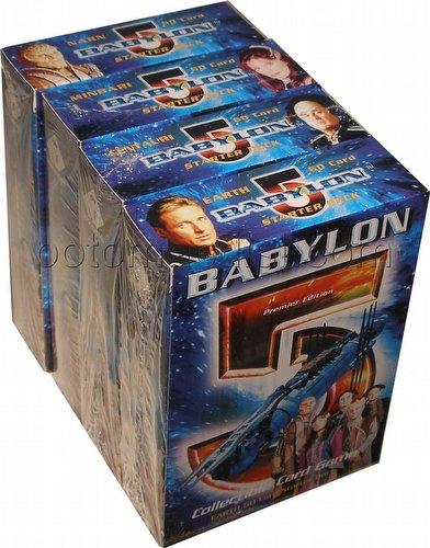 Babylon 5 Collectible Card Game [CCG]: Premier Starter Deck Set