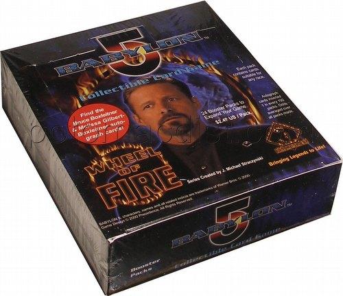 Babylon 5 Collectible Card Game [CCG]: Wheel of Fire Booster Box