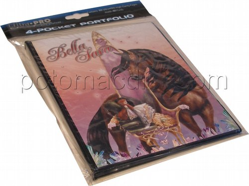 Bella Sara Trading Card Game [TCG]: Ultra Pro Jewel 4-Pocket Portfolio