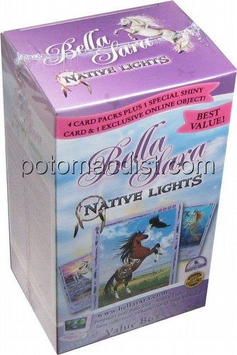 Bella Sara Trading Card Game [TCG]: Native Lights Value Box