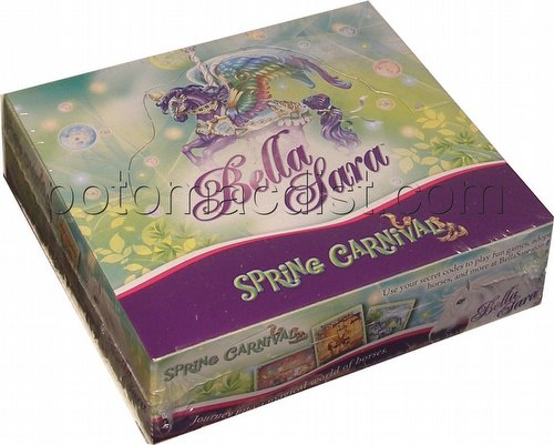 Bella Sara Trading Card Game [TCG]: Spring Carnival Booster Box