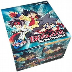 Beyblade Trading Card Game [TCG]: Collision Starter Deck Box