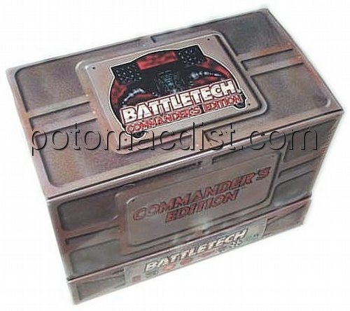 Battletech Trading Card Game [TCG]: Commanders Edition Starter Deck Box