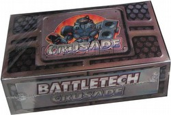 Battletech Trading Card Game [TCG]: Crusade Booster Box