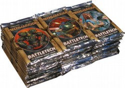 Battletech Trading Card Game [TCG]: Mech Warrior 36-Pack Booster Lot