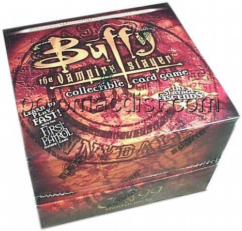 Buffy the Vampire Slayer CCG: Class of 99 Starter Deck Box [Unlimited]
