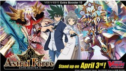 Cardfight Vanguard: The Astral Force Extra Booster Case [VGE-V-EB13/Eng/24 boxes]