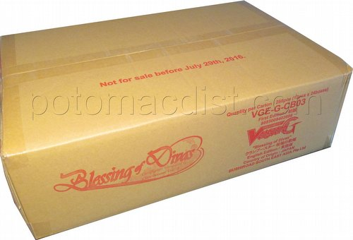 Cardfight Vanguard: Blessing of Divas Booster Case [VGE-G-CB03/24 boxes]