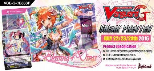 Cardfight Vanguard: Blessing of Divas Sneak Preview Kit [VGE-G-CB03]