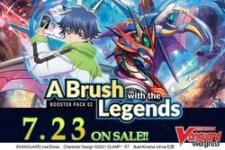 Cardfight Vanguard: A Brush with the Legends Booster Box [VGE-D-BT02/English]