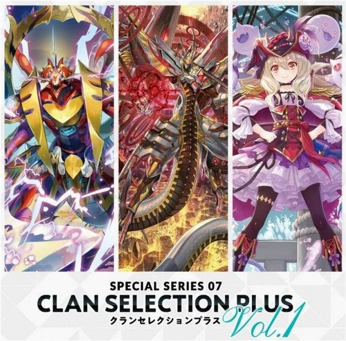 Cardfight Vanguard: Clan Selection Plus Volume 1 Booster Box [VGE-V-SS07/English]