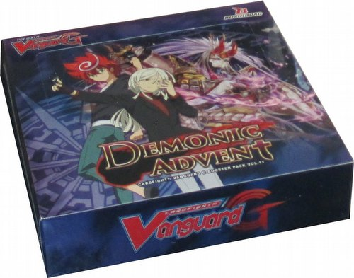 Cardfight Vanguard: Demonic Advent Booster Box [VGE-G-BT11/English]