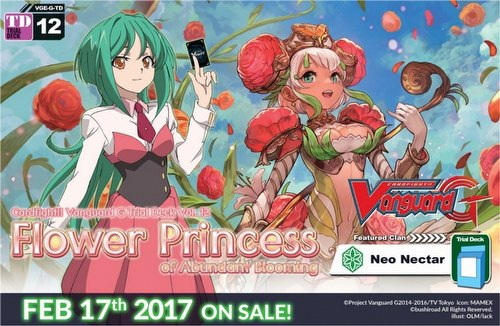 Cardfight Vanguard: Flower Princess of Abundant Blooming Trial Deck [VGE-G-TD12]
