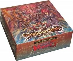 Cardfight Vanguard: Generation Stride G Booster Box [VGE-G-BT01]