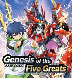 Cardfight Vanguard: Genesis of the Five Greats Booster Box [VGE-D-BT01/English]