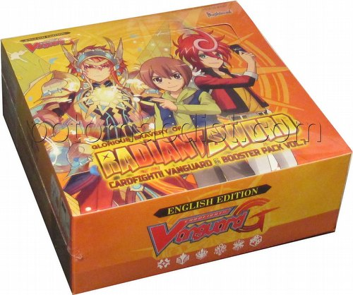Cardfight Vanguard: Glorious Bravery of Radiant Sword Booster Box [VGE-G-BT07]