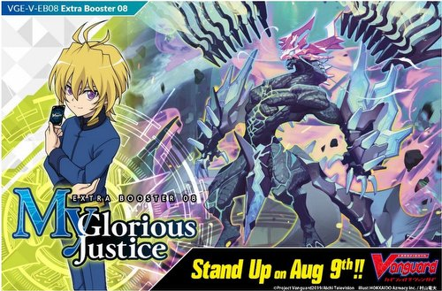 Cardfight Vanguard: My Glorious Justice Extra Booster Case [VGE-V-EB08/Eng/24bx]