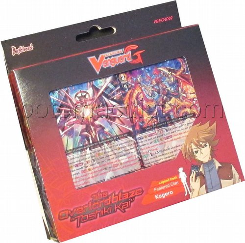 Cardfight Vanguard: Overlord Blaze Toshiki Kai Legend Deck