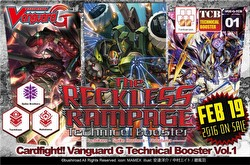 Cardfight Vanguard: The Reckless Rampage Booster Case [VGE-G-TCB01/24 boxes]