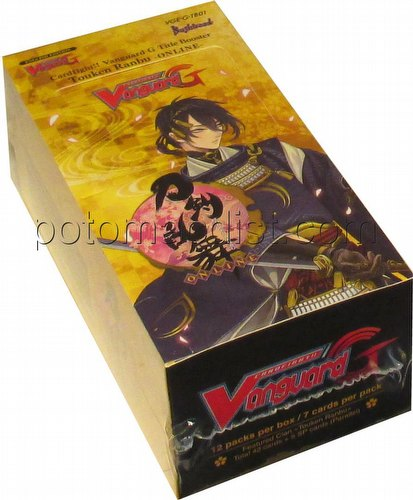 Cardfight Vanguard: Touken Ranbu -Online- Booster Box [VGE-G-TB01]