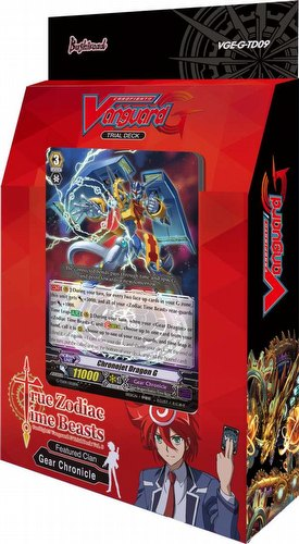 Cardfight Vanguard: True Zodiac Time Beasts Trial Deck [VGE-G-TD09]