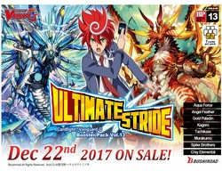 Cardfight Vanguard: Ultimate Stride Booster Case [VGE-G-BT13/English/20 boxes]