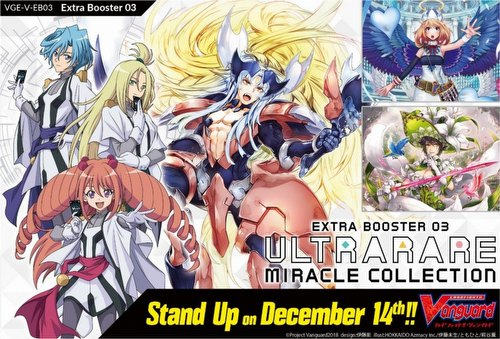 Cardfight Vanguard: Ultrarare Miracle Collection Extra Booster Case [VGE-V-EB03/English/24 boxes]