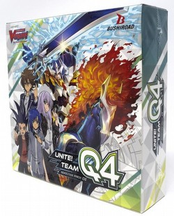 Cardfight Vanguard: Unite! Team Q4 Booster Box [VGE-V-BT01/English]