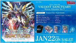 Cardfight Vanguard: Valiant Sanctuary Special Expansion Set V