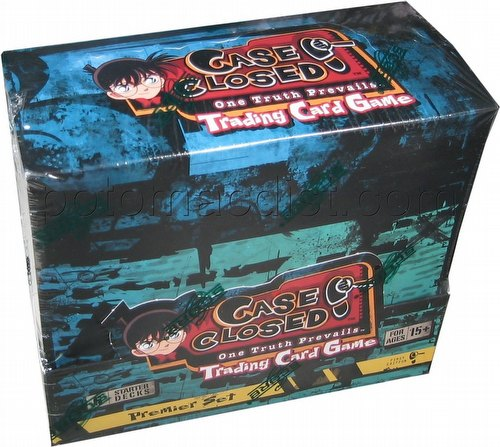 Case Closed TCG: One Truth Starter Deck Box